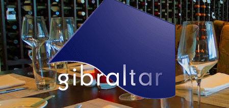 a logo for gibraltar restaurant
