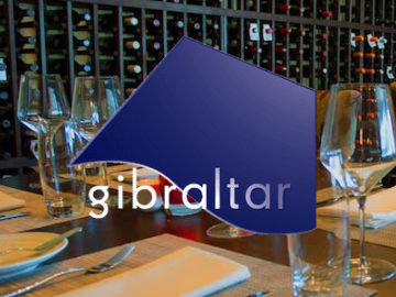 a logo for gibraltar restaurant